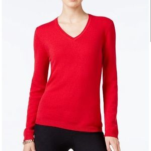 Charter Club Cashmere V-Neck Sweater
